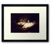 Millenium Moon Framed Print