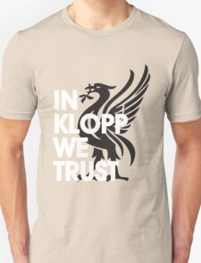 In Klopp We Trust (Red) T-Shirt