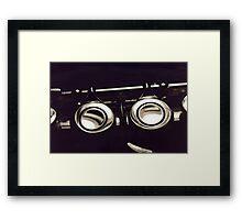 My flute Framed Print