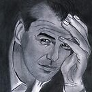 Pierce Brosnan  by Bobby Dar