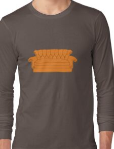 Friends couch Long Sleeve T-Shirt
