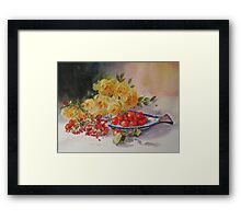 One berry or two Framed Print