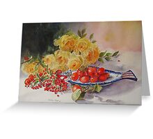 One berry or two Greeting Card