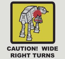 Wide Right Turn (Star Wars AT-AT Tee)
