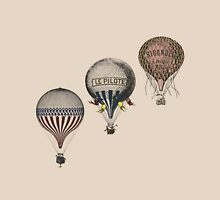 Vintage Hot Air Balloon Race Womens Fitted T-Shirt