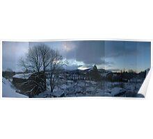 Argyll Snow Poster