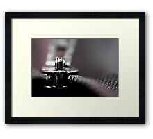Put it away... (II) Framed Print