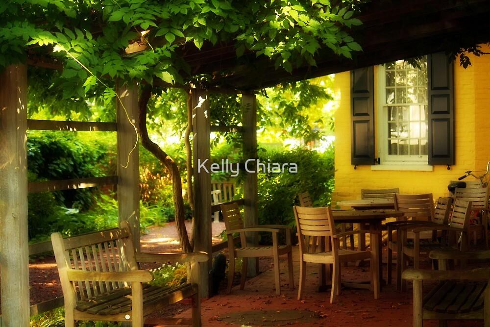 MacLean House Garden Patio by Kelly Chiara