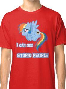 Stupid people Classic T-Shirt