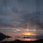 Sunset at Balnagowan, Loch Linnhe by cuilcreations