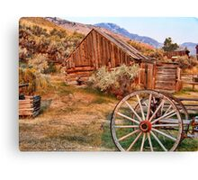 Bannack, Montana (USA) Canvas Print