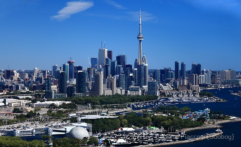 Quot Toronto Ontario Canada Skyline Quot By Eros Fiacconi Sooboy
