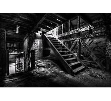 Stairs of Mourning Photographic Print