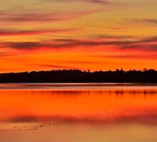 Sunset Dreaming. by Warren  Patten