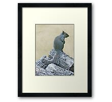 How Long Do I Have To Face The Wall, Mom? Framed Print