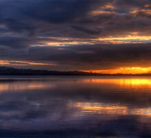 The Blues Of The Night (HDR Pano 35 Exposure) Narrabeen Lakes Sydney - The HDR Experience by Philip Johnson