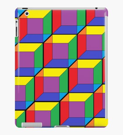 Rainbow Cubes iPad Case/Skin