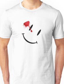 Watchmen bloody smiley  Unisex T-Shirt