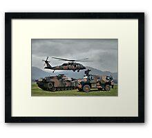 Aust Army Framed Print
