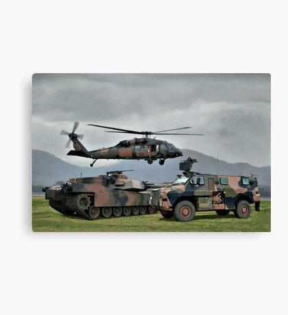 Aust Army Canvas Print