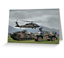 Aust Army Greeting Card