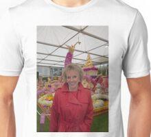 Esther Rantzen at the Chelsea flower show 2015 Unisex T-Shirt