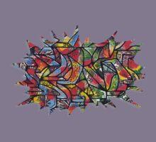 Serif Explosion (Walls Notebook) Kids Tee