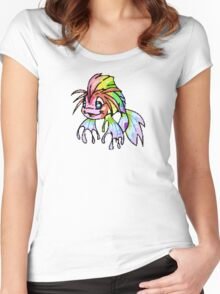 Rainbow Koi Women's Fitted Scoop T-Shirt