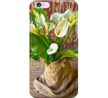 Bunch of Calla Lilies. iPhone Case/Skin