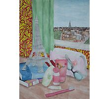 Holiday in Paris Photographic Print