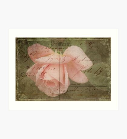 Faded Love ~ I Still Think of You...  Art Print