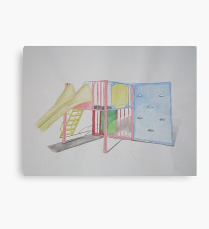 Play Equipment Canvas Print