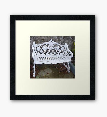 Bring Your Own Cushion!! Framed Print