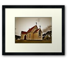 St Mary's Anglican Church, Mamaranui. Framed Print