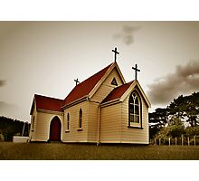 St Mary's Anglican Church, Mamaranui. Photographic Print