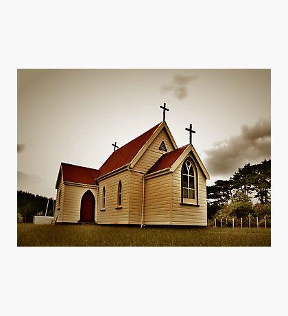 St Mary's Anglican Church, Mamaranui. Photographic Print