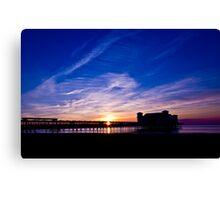 Weston Super Mare Pier Canvas Print