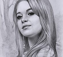 Lindsay Lohan by thedrawinghands