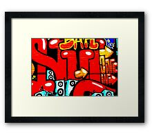 Graffiti 19 Framed Print