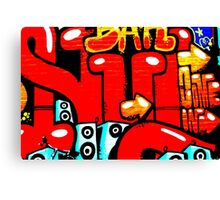 Graffiti 19 Canvas Print