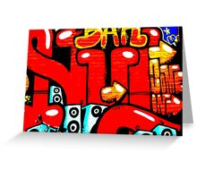 Graffiti 19 Greeting Card