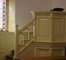 Pulpit And Window by lezvee