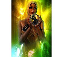 tribal future 2 Photographic Print