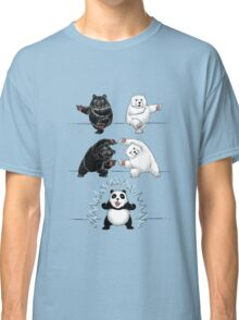 The fusion of panda  Classic T-Shirt