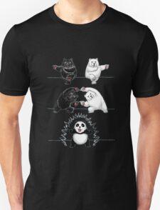 The fusion of panda  Unisex T-Shirt
