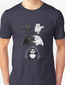 The fusion of panda  Unisex T-Shirt