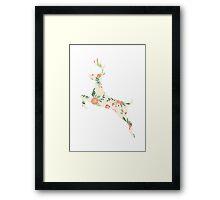 Deer / Stag Framed Print