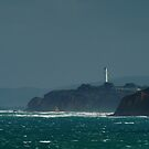 Bleak Weather, Aireys Inlet,Split Point by Joe Mortelliti