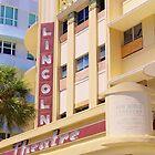 Lincoln Theater South Beach Florida by Rene  Triay