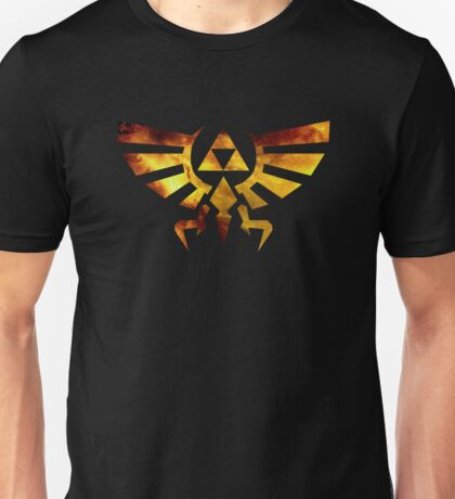 Galaxy Zelda Triforce Unisex T-Shirt